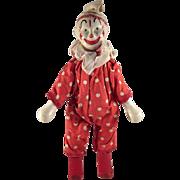 Delavan Clown Toy Figure