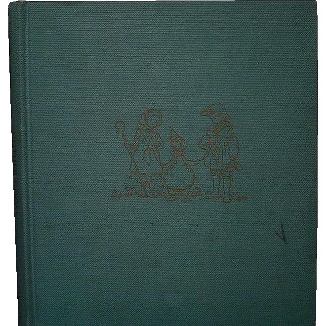 """Mother Goose"" Tasha Tudor, 1944, 1st Ed, Second Printing"