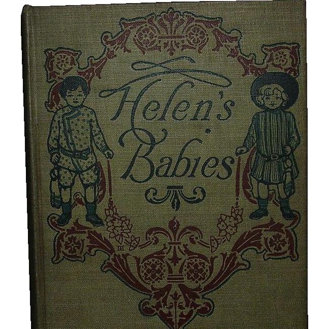 """""""Helen's Babies"""", John Habberton, Grosset & Dunlap 1st ed."""