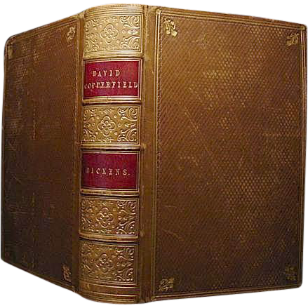 DAVID COPPERFIELD  Charles Dickens 1st Issue 1st Book Edition 1850