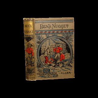 "SALE Vintage Illus. Boards Horatio Alger Jr. ""  Ben's Nugget"""