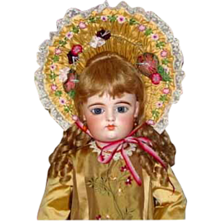 """SALE Fantastic French Bisque """"F. G"""" BeBe by Gauthier  26 1/2"""" tall"""