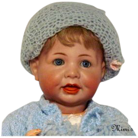 """Beautiful K & R   #116/A Character Baby 18"""""""
