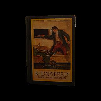 SALE Vintage Copy Kidnapped by Robert Louis Stevenson 1921
