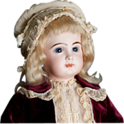 """Rare  TETE Jumeau 24"""" marked SGDG 11 with Voice Box"""