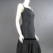 Vintage classic little black Cocktail Dress PL7