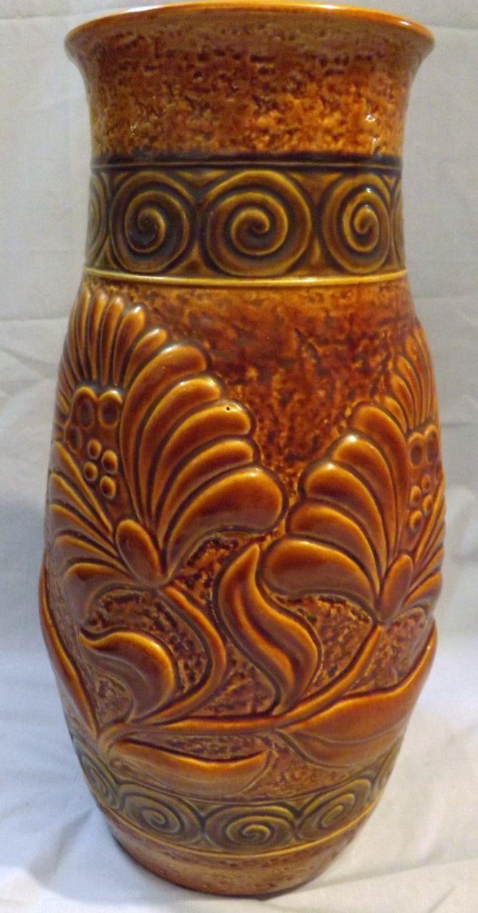 Large & Stunning 'Bay Keramik'  German Retro Vase