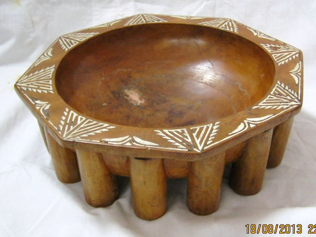 SAMOAN Kava Bowl - Circa 1920's