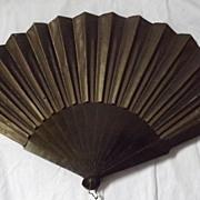 Victorian Mourning Fan