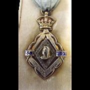 Masonic Jewel Queen Victoria's 60 Years Reign 1837-1897