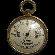 Rare Victorian Damp Detector