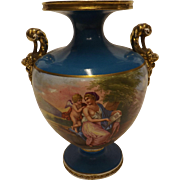 Superb Classical Staffordshire Vase Circa 1900