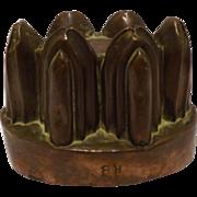 A Georgian Copper Jelly Mold