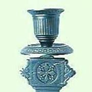 Victorian Period Bronze Candle Stick