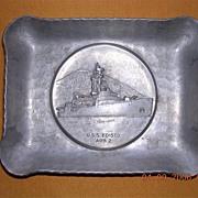 Vintage US NAVY Souvenir USS Edisto AGB 2