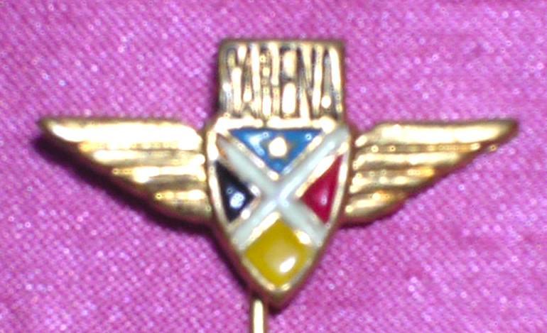 Vintage Sabena Airlines Advertising Lapel Pin