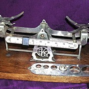 Vintage EASTMAN KODAK Studio Scales Set