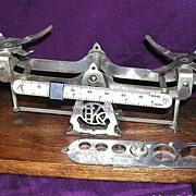 Vintage EASTMAN KODAK Studio Scales Set