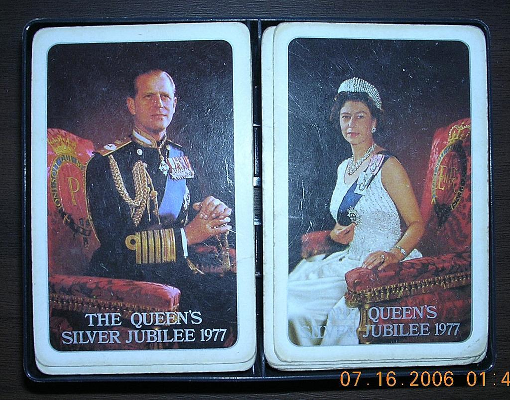 Queen Elzabeth 11 Royal Coronation Playing Cards 1953