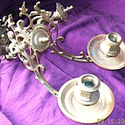 "Large  Victorian ""PHARO"" Candle Sconce"