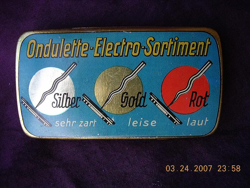 ONDULETTES-Electro-Sortiment French Gramophone Needles
