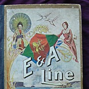 Rare 1904 Shipping Book for Eastern & Australian Steamship Line