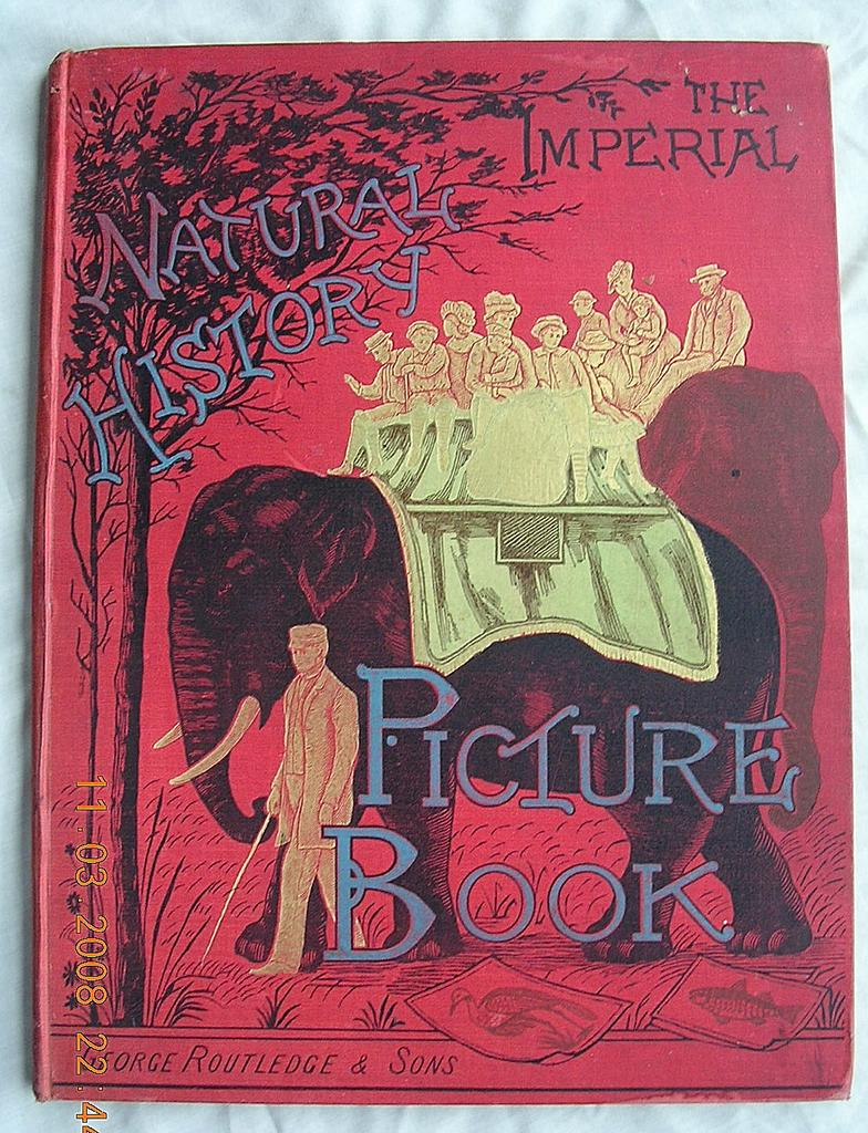 """Fabulous Victorian """"The Imperial Picture Book of Natural History"""" 1884"""