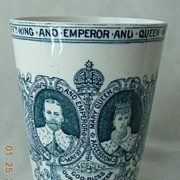 1910 Copeland Spode Coronation Beaker George V th