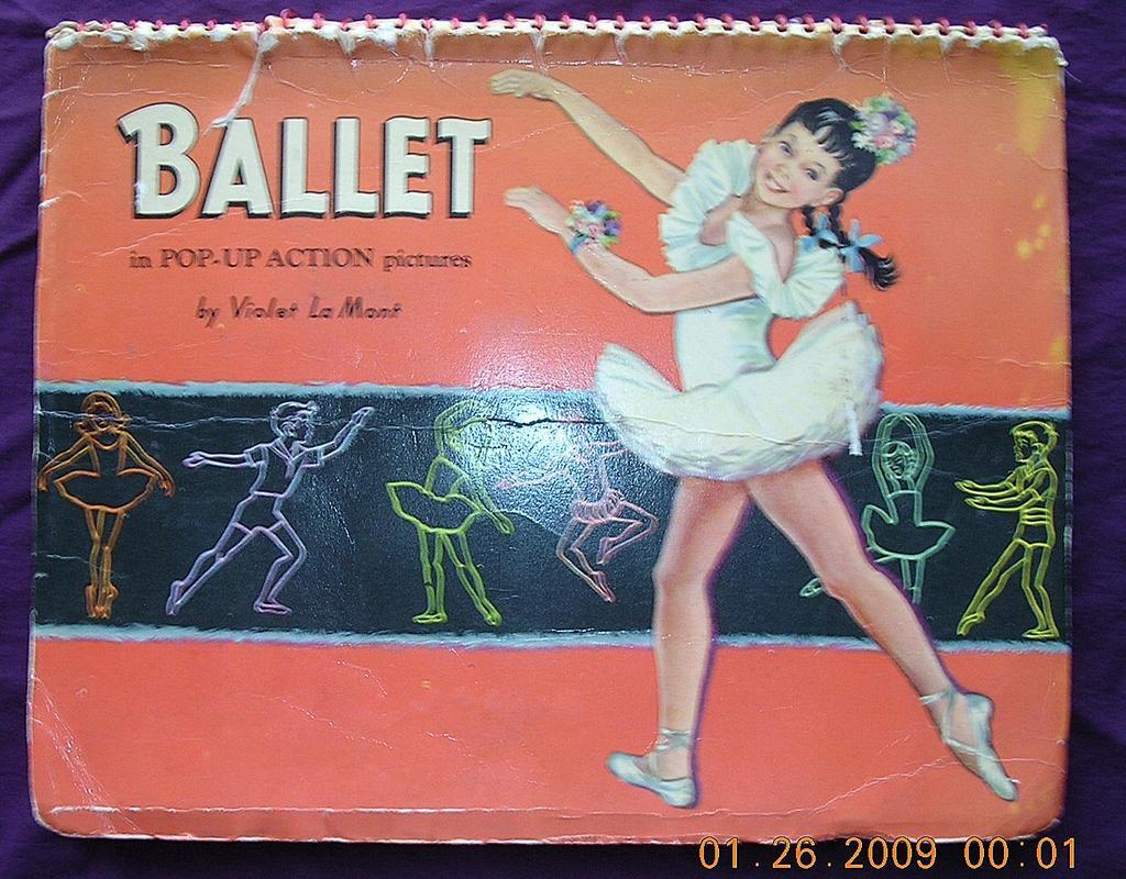 Vintage 1953 BALLET Pop-Up Book