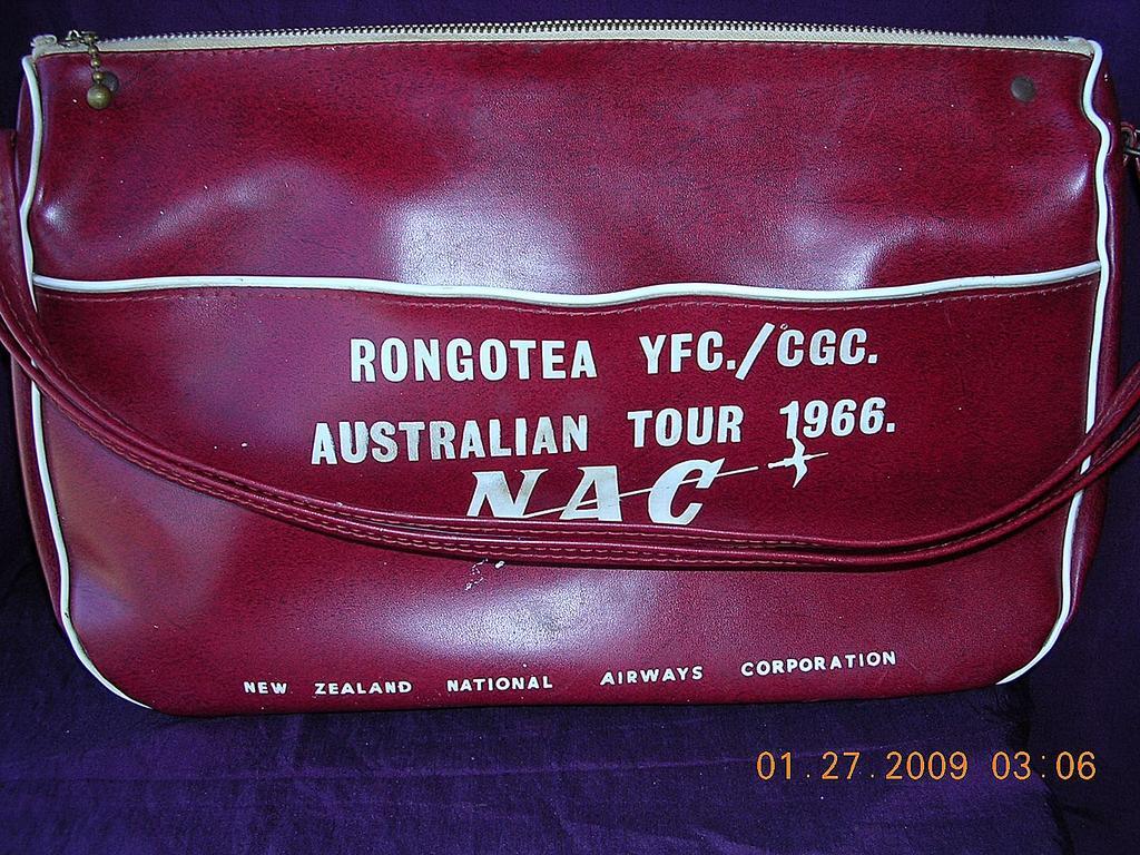 Vintage NAC Airlines Cabin Bag