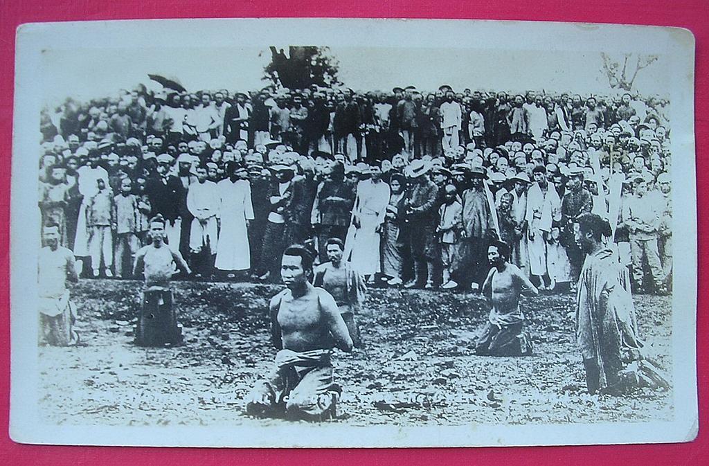 Original Photograph Japanese Occupation Executions