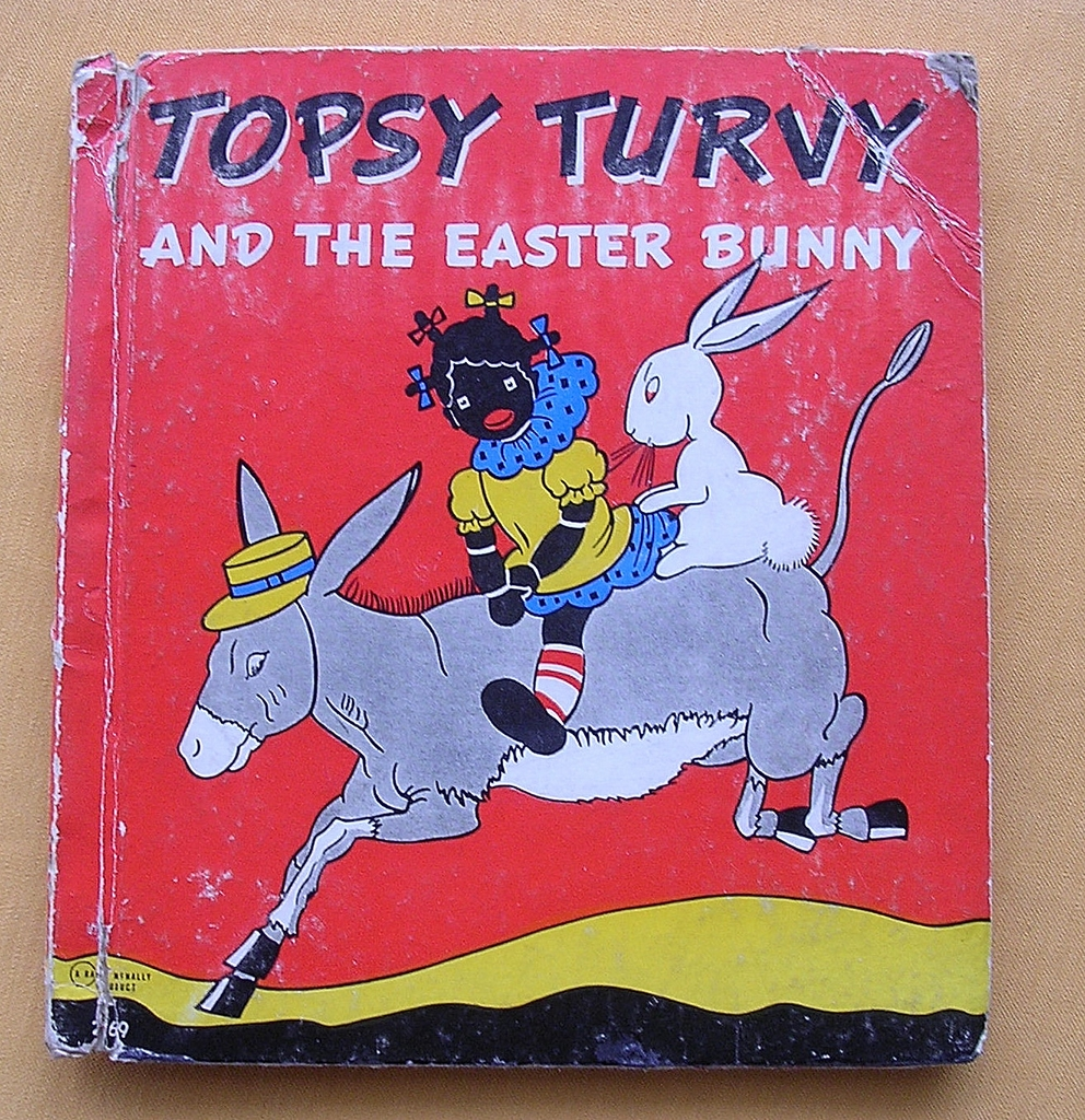 1939 Edition 'Topsy Turvy And The Easter Bunny' By Bernice Anderson
