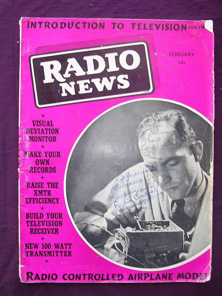 Radio News Magazine February 1939