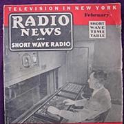 Radio News Magazine February 1938