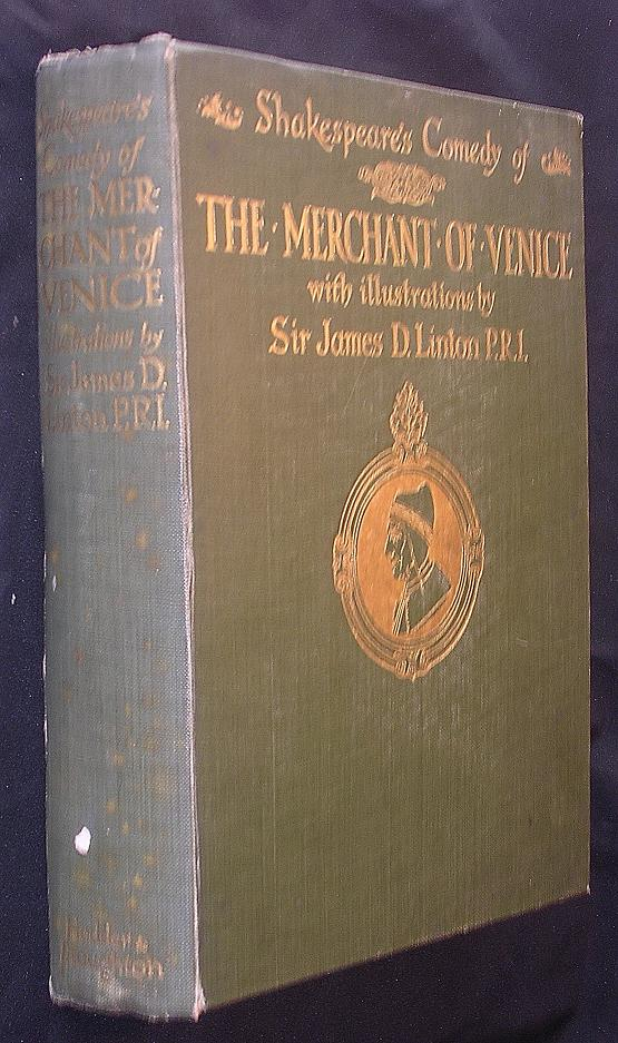 "First Edition 1909 of ""SHAKESPEARE'S Comedy Of The Merchant of Venice"""