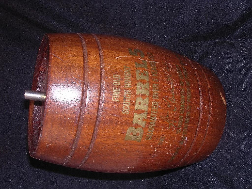 Vintage Wooden Scotch Whisky Barrel 'Barrel 5'