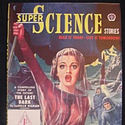 SCI-FI Magazine - Super Science British Edition No.5 1950