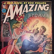 SCI-FI Magazine - Amazing Stories -Vol. 26 May 1952