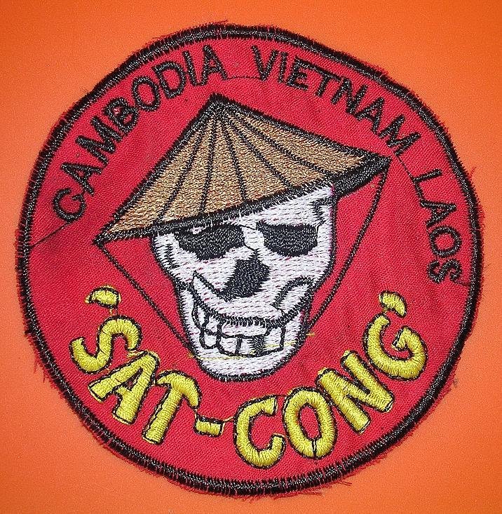 VIETNAM  US Special Forces SAT CONG Shoulder Patch