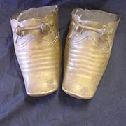 Conquistador Brass Battle Stirrup Shoes