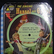 Magic Talking Book 'The Singing Hansel & Gretel Book'