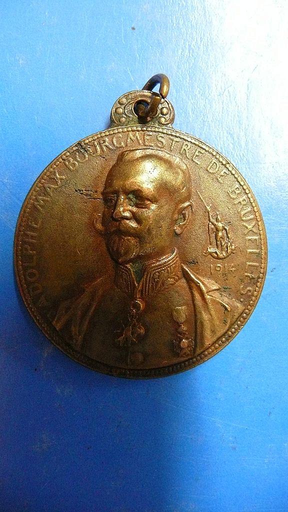 Medal of The Bourgmestre de Bruxelles 1914