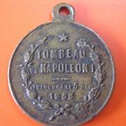 Tombeau de Napoleon 1853 Inauguration Medallion