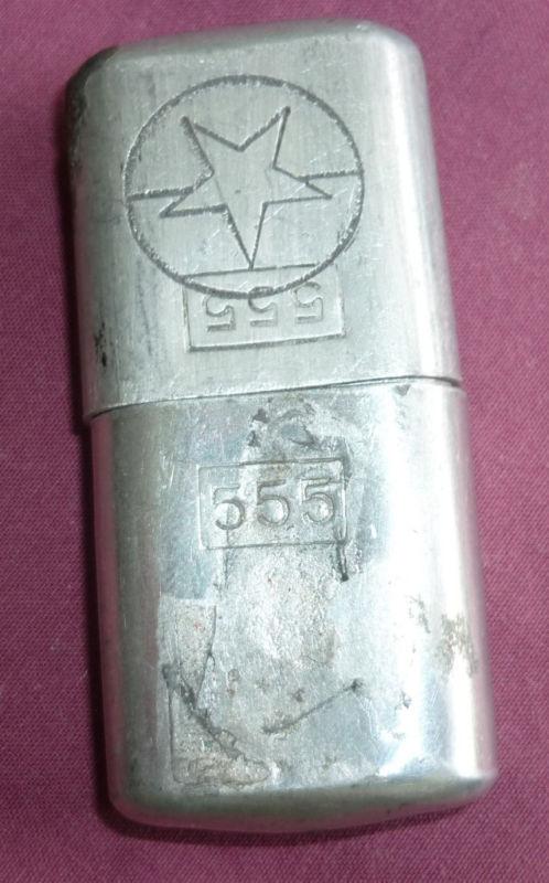 Vietnam War  - VIET CONG - NVA Issue 'Quyet Thang' Cigarette Lighter