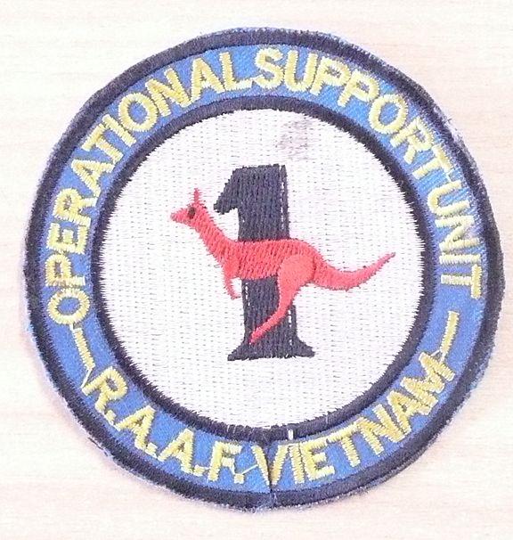 VIETNAM WAR - Rare Australian RAAF Operations Support Patch