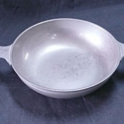 James Yates Pewter Porringer Circa 1860-1870