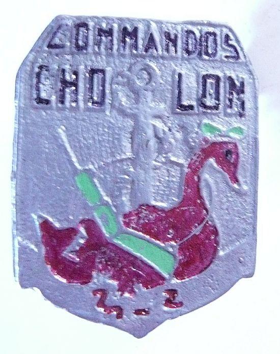 VIETNAM Indochine War - French Foreign Legion - MNTV - Saigon Militia Badge