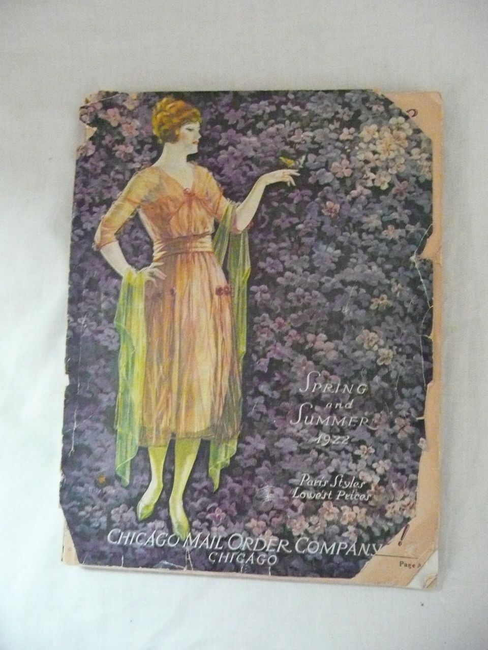 Chicago Mail Order Co - Spring & Summer 1922 Catalogue