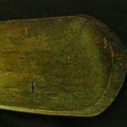 18th Century English Wooden Grain Scoop