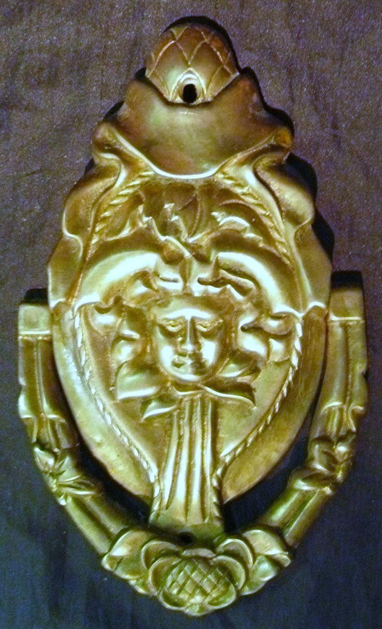 Early Brass Door Knocker Circa 1900